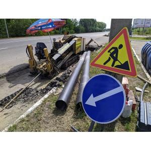 Монтаж трубопровода на 1478 метров.