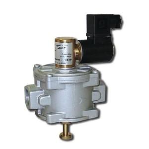 Газовый клапан норм.-закр. (6 бар) резьбовой MADAS (ДУ 15 - 50)