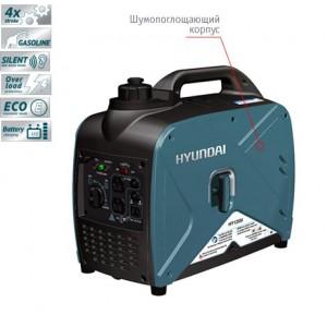 Бензогенератор Hyundai HY 125Si (1 кВт)
