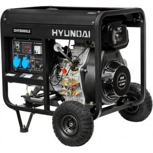 Дизельный генератор Hyundai DHY 6000LE/8000LE (5 - 6 кВт)