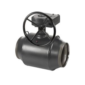 Кран под приварку с редуктором Danfoss JiP (ДУ 100 - 600)