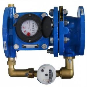 Комбинированный водомер  PoWoGaz MWN/JS (ДУ 50 -150)