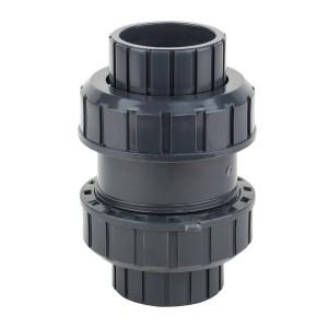 Обратный клапан ПВХ (ДУ 20 - 63)