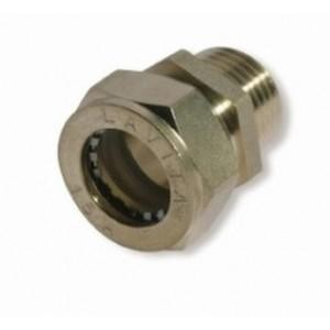 Муфта усиленная никелированная DISPIPE BC50x2 (M)NHP