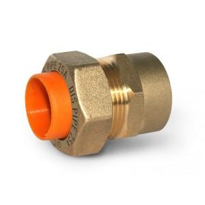 Муфта труба-внутренняя резьба для газа DISPIPE GIBC25*1